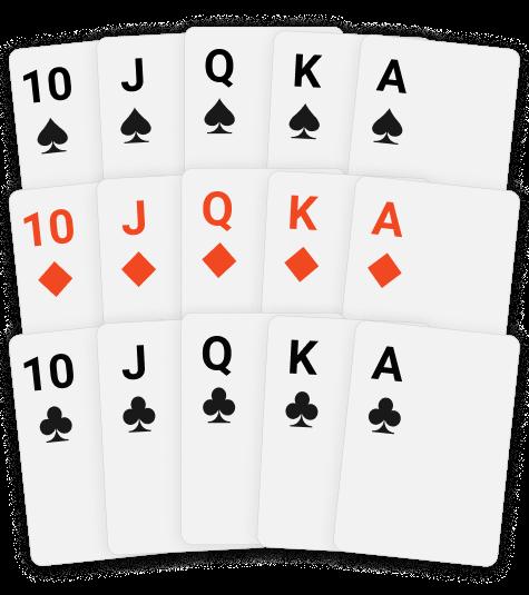 Poker Frame 15